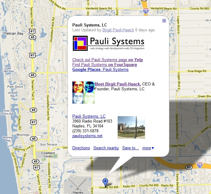 Pauli Systems, LC on the map
